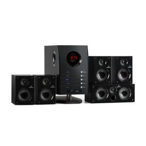 Areal 525 BK Altavoces 5.1 sonido envolvente 65W Negro