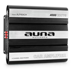 Amplificador coche 4000 W 4 canales tecnología MOSFET