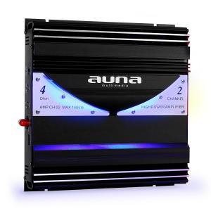 AMP-CH02 Amplificador bidireccional Hifi coche 190W RMS 1400W max. 2
