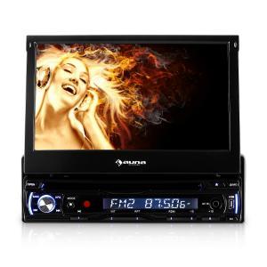 """DTA90 Radio coche con DVD 7"""" Pantalla LCD"""