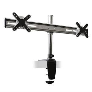 Soporte Auna ET01-C02, 2 Pantallas mesa, brazo giratorio