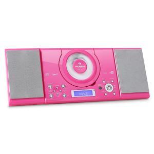 MC-120 Cadena estéreo MP3 CD USB Montaje en pared Rosa Rosa