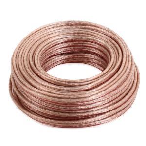 Cable de altavoz de 25 metros, 2 x 2,5 mm ² de sección transversal.