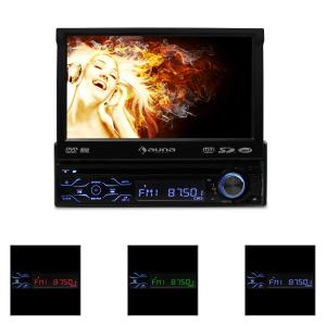 MVD-180 Autoradio con pantalla DVD Bluetooth