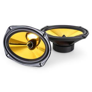 """Goldblaster 6x9 par de altavoces para coche 15x23cm 2000W 15 cm x 23 cm (6"""" x 9"""")"""
