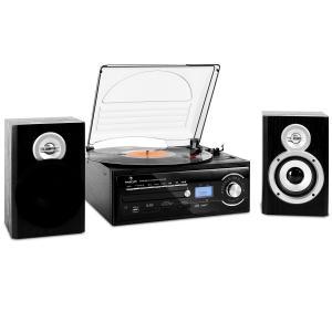 TT-190 Cadena estéreo tocadiscos MP3 CD SD USB cassette