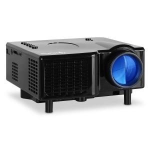 Mini Proyector LED VGA AV negro