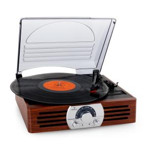 TT-83N Tocadiscos radio FM madera