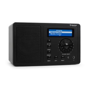 IR-130 receptor radio internet radio por internet wifi con streamingnegro Negro