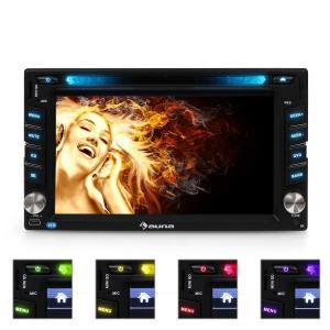 "MVD-480 Autorradio con pantalla 6,2"" DVD CD MP3 USB SD"