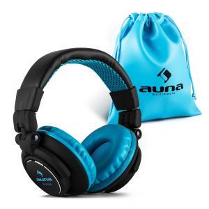 Base Auriculares DJ 15Hz-22kHz cerrados plegable Azul