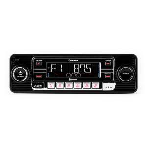 TCX-1-RMD Autorradio negro bluetooth USB SD MP3 AUX CD  Negro