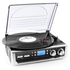 TT-196E - Tocadiscos USB MP3 AM/FM