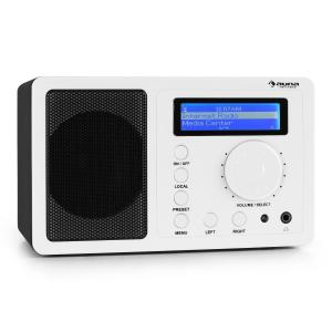 IR-130 Radio de internet WiFi Streaming blanco Blanco