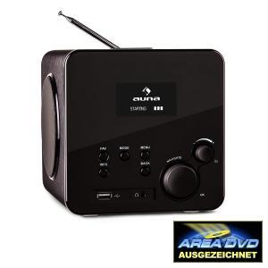 Radio Gaga radio internet wifi receptor de radio por internet DAB USB negro