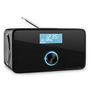 DABStep DAB/DAB+ Radio digital bluetooth FM RDS Despertador  Negro