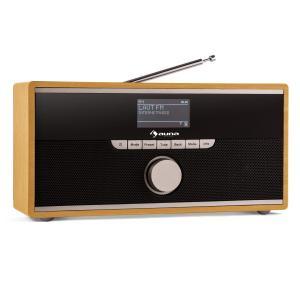 Weimar radio internet receptor radio wifi dab+ bluetooth marrón claro
