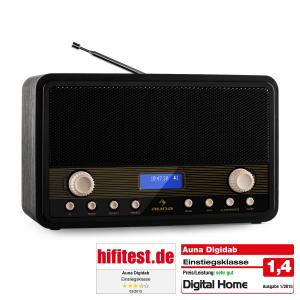 Digidab Retro Radio digital DAB PLL Despertador