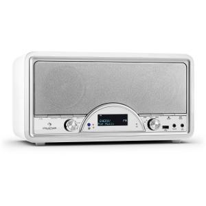Virgina BK Radio digital DAB/DAB+ Bluetooth USB FM AUX MP3 blanco