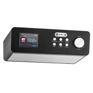 KR-200 Radio de Internet para cocina Spotify dab wifi dab+ con temporizador Negro