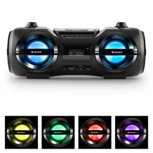 Soundblaster M Boombox Bluetooth 3.0 CD/MP3/USB FM LED 25W RMS