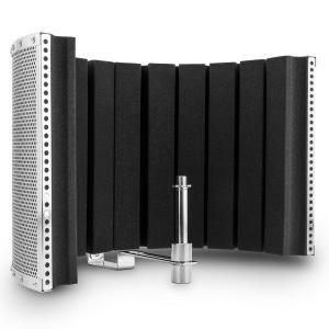 MP32 MKII Pantalla de micrófono Mic Screen Difusor incl. adaptador plata