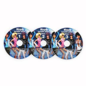 Juego de 3 CD+G para karaoke