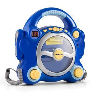 Pocket Rocker reproductor de CD Karaoke Sing-A-Long 2 x micrófonos con pilas  Azul