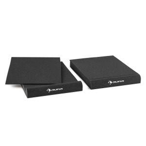 """IsoPad 17 cm Pareja de gomaespuma acústica inclinación 4/8° antracita 16,5 cm (6,5"""")"""