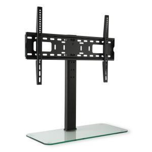 soporte para TV tamaño L altura 56 cm altura regulable 23-55 pie de cristal