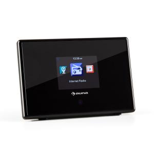 """iAdapt 240 Adaptador de radio por internet WLAN Pantalla TFT de color de 2,4"""" Salida en línea negro"""