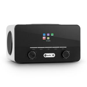 Connect 150 WH Radio por internet 2.1 Reproductor multimedia WLAN LAN USB D Blanco