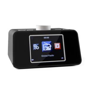 "i-snooze radio de internet WLAN USB AUX 3,2 "" TFT display a color negra Negro"