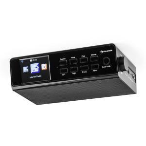 """KR-190 Radio de cocina con WiFi/Internet, app de control, monitor LCD-TFT de 3,2"""", en negro Negro"""