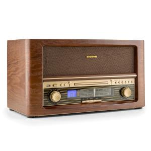 Belle Epoque 1906 DAB equipo de sonido retro CD MP3 USB AUX AM/FM CD-Player
