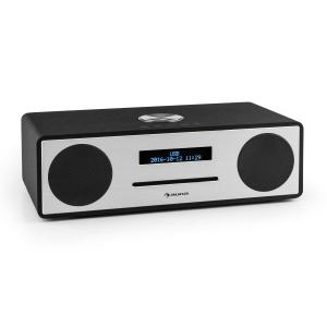 Stanford Radio-CD-DAB con DAB+ Bluetooth USB MP3 AUX radio FM negro
