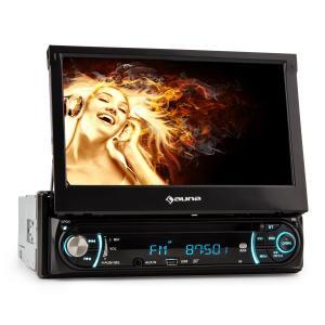 MVD-330 Autoradio Bluetooth con USB SD MP3 AUX y pantalla táctil de 18 cm (7'')