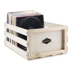 Nostalgie by auna Record Box WD Caja para discos de acetato LP-Box Multiplex / Madera