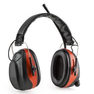 Jackhammer BT cascos anti ruido Radio FM 4.0 Bluetooth AUX in SNR 28dB Rojo