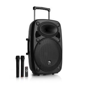 """Streetstar 15 Equipo PA portátil Subwoofer de 15"""" Carrito BT USB/SD/MP3 FM AUX"""