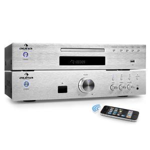 """Elegance Tower Bluetooth"" Set Hi-Fi 2.0   Reproductor de CD y MP3   Amplificador 600W"