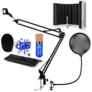 CM001BG set de micrófono V5 micrófono condensador brazo de micrófono protección anti pop escudo