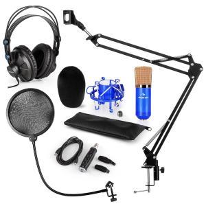 CM001BG set de micrófono V4 micrófono condensador adaptador USB brazo de micrófono protección anti pop