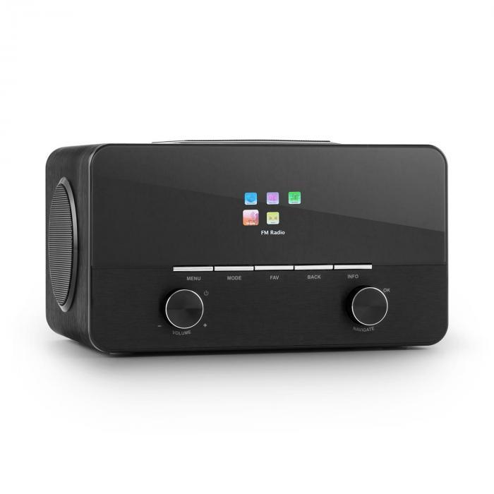Connect 150 BK 2.1 radio internet receptor radio internet USB dab+ negro Negro