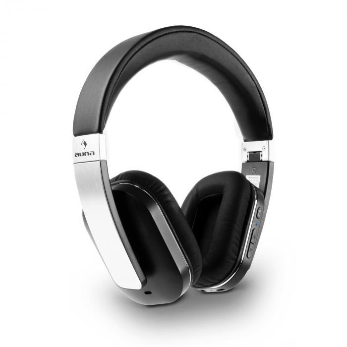 Elegance ANC Auriculares con Bluetooth-NFC Batería Manos libres Reducción de ruidos